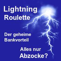 Lightning Roulette Abzocke